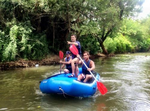 rafting at the Jordan river